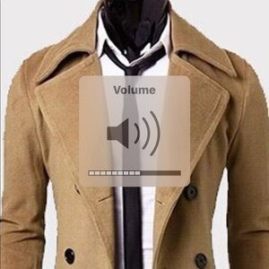 Other - ⭐️Men's Stylish Overcoat Brand New with Tags⭐️⭐️